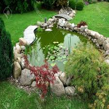 Pond Landscaping Ideas A Beautiful Simple Pond Design For Your Garden