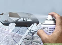 Model Spray Paints - 3 ways to paint a model car wikihow