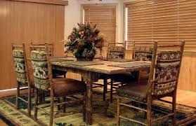 Log Dining Room Tables Interiors Big Bear Lake Furniture Log Furniture