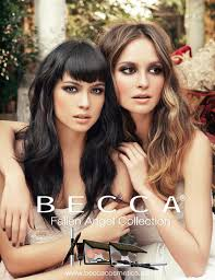 you could be naughty and nice with the becca fallen angel palette