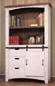 3 Shelf Bookcase With Doors Bookcases