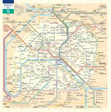 Metro Ny Map by Paris Metro Map U2013 The Redesign U2013 Smashing Magazine