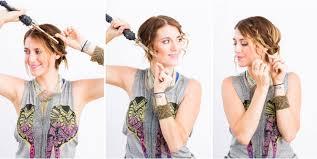 Hochsteckfrisurenen Einfach F Locken by Lässige Hochsteckfrisuren Für Mittellange Haare 12 Tolle Styling