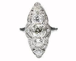 art deco marquise diamond ring 165152 sellingantiques co uk