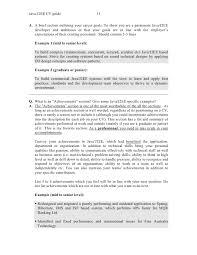 Sample Resume Software Engineer by Java Resumes Resume Resume Example Java 1jpg Senior Java