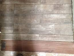 help tile to wood transition