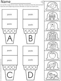cut and paste worksheets kindergarten free worksheets library