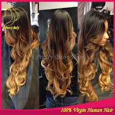 honey brown hair with blonde ombre honey blonde ombre hair extensions triple weft hair extensions
