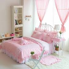 girls double bedding bedroom girls bedding pink brick pillows floor lamps girls
