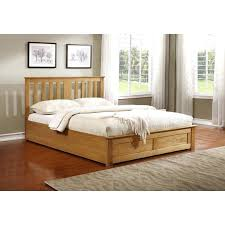 Bed Frame Buy Stratton Storage Bed King Size Wooden Gas Lift Storage Bed Frame