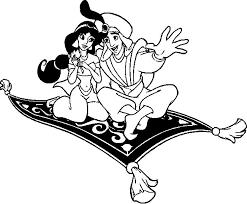aladdin jasmine colouring magic carpet gekimoe u2022 10634