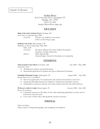 law admissions resume sample awesome applying to law