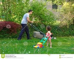 Family Garden - family gardening royalty free stock photos image 5374428