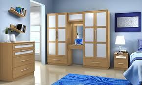 Oak Effect Bedroom Furniture Sets Oak Finish Bedroom Furniture Set Groupon Goods