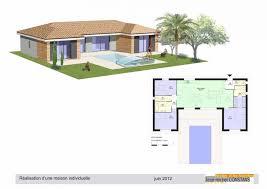 plan de maison 5 chambres plain pied plan maison de plain pied avec suite parentale ooreka plan de maison