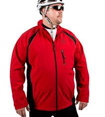 cycling windbreaker big man u0027s windproof thermal softshell cycling jacket