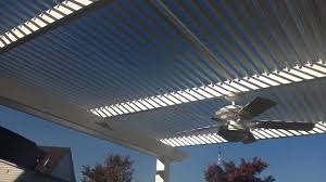 Louvered Roof Pergola by American Louvered Roofs Of Central Virginia Youtube