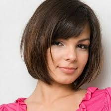 bob haircut for chubby face 16 cute easy short haircut ideas for round faces straight bob