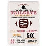football invitations paperstyle