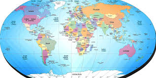 continents on map map continents country cities maps