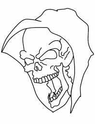 skull coloring pages printable coloringstar