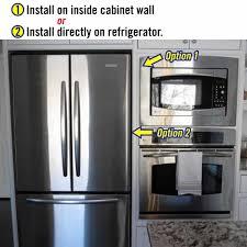Kitchen Cabinet Refrigerator Kitchen Heat Shield Sticky Shield Heatshield Products
