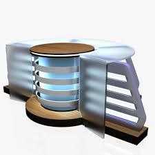 television 3d model virtual tv studio news desk cgtrader