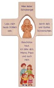 kreuz für kinderzimmer kinderkreuze mit engel bei kirchliche kunst de