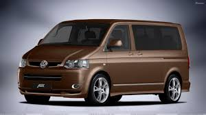 wallpaper volkswagen van front side pose 2010 abt volkswagen t5 van facelift in brown wallpaper