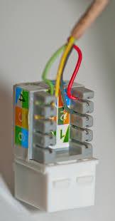 panasonic kx ta824 telephone system quad cable pair jack color