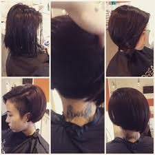hair relaxer for asian hair sidecut undercut on thick asian hair by nslh hair by nslh