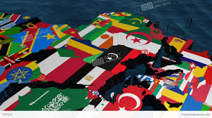 Flags Of Eastern Europe Libya World Flag Map Stock Animation 737023