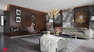 living room laminate plywood and stone wall texture designs