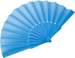 held fan fabric held fan pale blue reklámajándék hu ltd