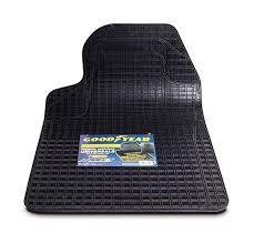 tappeti di gomma per auto goodyear 77140 tappeto auto singolo in gomma universale e