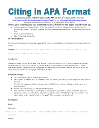 Reference Page On Resume Ideas Collection Proper Apa Format For Reference Page On Summary