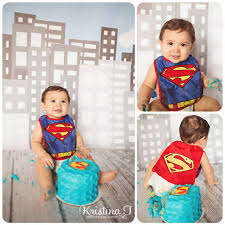 great idea for baby u0027s b day smash cake photo shoot u0026 superman