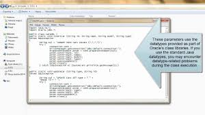 tutorial oracle stored procedure oracle and java tutorial java stored procedure youtube