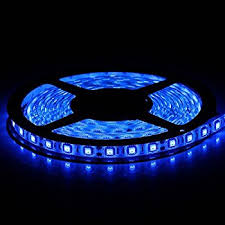 led lights blue 300 units smd 5050