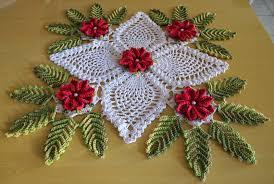 os croches da elsa ideias para o natal 8 centro de mesa natalino