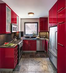 Kitchen Furniture Cabinets Red Kitchen Cabinets Kitchen Rustic With Barrel Brown Counter