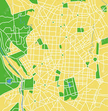 Madrid Map Vector Pattern City Map Of Madrid Spain Royalty Free Cliparts