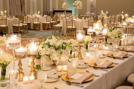 wedding reception decor gold and reception decor elizabeth designs the
