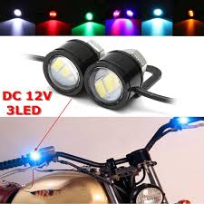 eagle view tattoo machine lights 2pcs led eagle eye l strobe flash drl bicycle motorcycle car atv