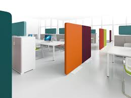 cloison bureau acoustique cloison mobile pour aménagement de bureau steelnovel