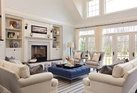 White Sofa Decorating Ideas Living Room Amazing Living Room Design With Beach Themed Using