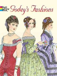 godeys book godey s fashions coloring book by ming ju sun
