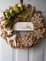 burlap wreath with merry by chloescraftcloset