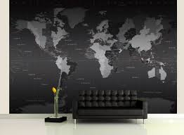 Pacific Time Zone Map World Time Zones Wall Map Mural