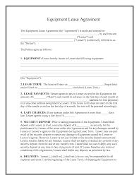 best photos of free standard rental agreement templates standard